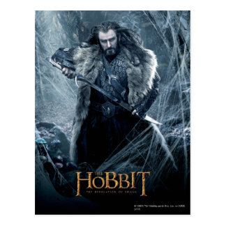 THORIN OAKENSHIELD™ Character Poster 3 Postcard