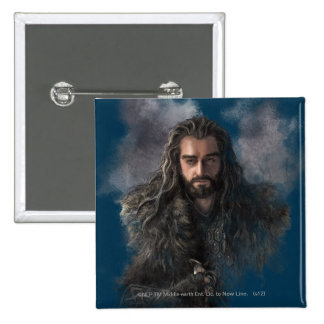 THORIN OAKENSHIELD™ Illustration Buttons