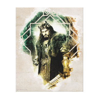 THORIN OAKENSHIELD™ - King Under The Mountain Canvas Print