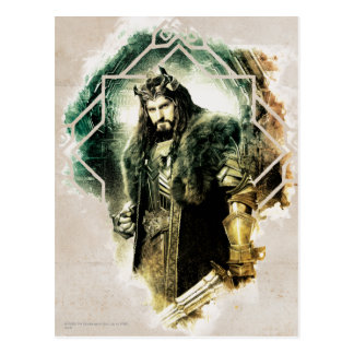 THORIN OAKENSHIELD™ - King Under The Mountain Postcard