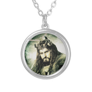 THORIN OAKENSHIELD™ - King Under The Mountain Silver Plated Necklace