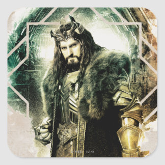 THORIN OAKENSHIELD™ - King Under The Mountain Square Sticker