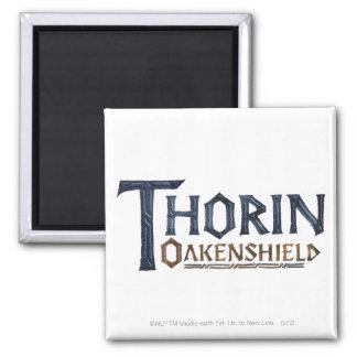 THORIN OAKENSHIELD™ Logo Blue 2 Inch Square Magnet