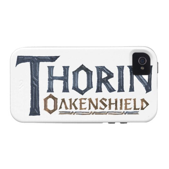 THORIN OAKENSHIELD™ Logo Blue Case-Mate iPhone 4 Case