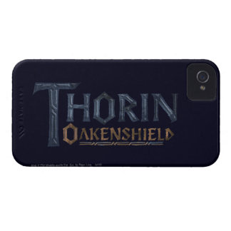 THORIN OAKENSHIELD™ Logo Blue iPhone 4 Cover