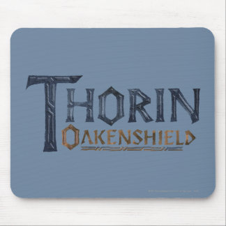 THORIN OAKENSHIELD™ Logo Blue Mouse Pad