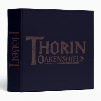 THORIN OAKENSHIELD™ Logo Brown Binder