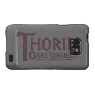 THORIN OAKENSHIELD™ Logo Brown Samsung Galaxy S2 Covers