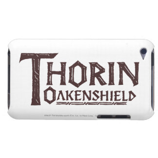 THORIN OAKENSHIELD™ Logo Brown Barely There iPod Covers