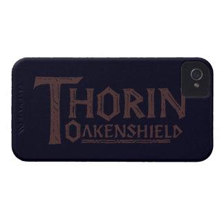 THORIN OAKENSHIELD™ Logo Brown iPhone 4 Case