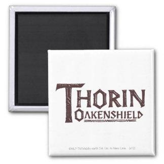 THORIN OAKENSHIELD™ Logo Brown Magnet