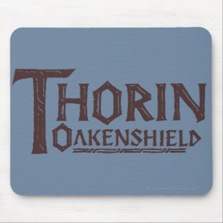 THORIN OAKENSHIELD™ Logo Brown Mouse Pad