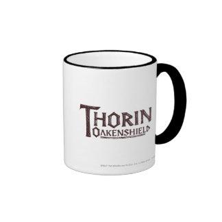 THORIN OAKENSHIELD™ Logo Brown Coffee Mugs