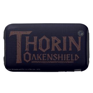 THORIN OAKENSHIELD™ Logo Brown Tough iPhone 3 Cover