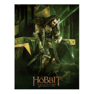 THORIN OAKENSHIELD™ On Throne Postcard