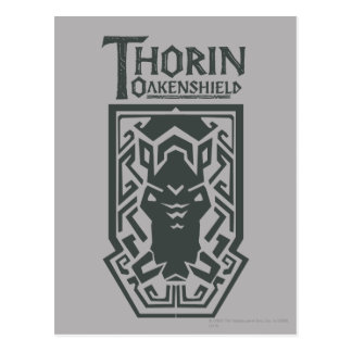 THORIN OAKENSHIELD™ Shield Symbol Postcard