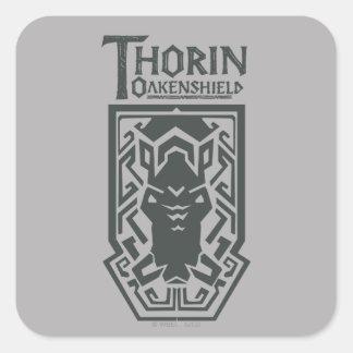 THORIN OAKENSHIELD™ Shield Symbol Square Sticker