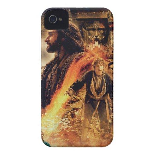 THORIN OAKENSHIELD™ y Bilbo en Erebor Carcasa Para iPhone 4