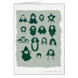 Thorin y pelo de Company Tarjetas