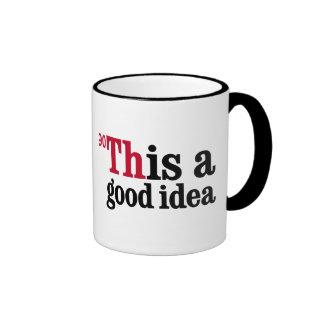 Thorium - This is a good idea Ringer Mug