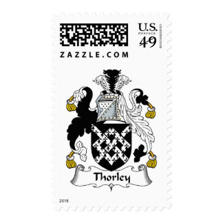 Thorley Family Crest Stamp