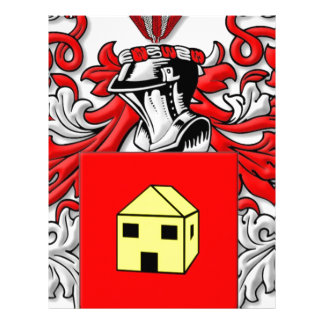 Thorman Coat of Arms Personalized Letterhead