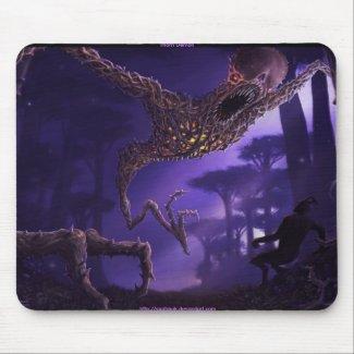 thorn demon mouse pad mousepad