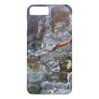 Thorn in Round Bubbles of Ice from Freezing Rain iPhone 8 Plus/7 Plus Case