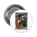 Thorn Magician ~ Dreamland Vintage Magic Act Buttons
