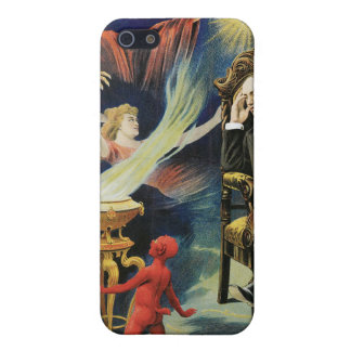 Thorn Magician ~ Dreamland Vintage Magic Act iPhone SE/5/5s Case