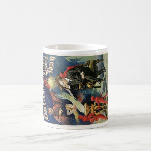Thorn Magician ~ Dreamland Vintage Magic Act Coffee Mugs