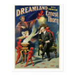 Thorn Magician ~ Dreamland Vintage Magic Act Post Card