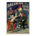 Thorn Magician ~ Dreamland Vintage Magic Act Posters