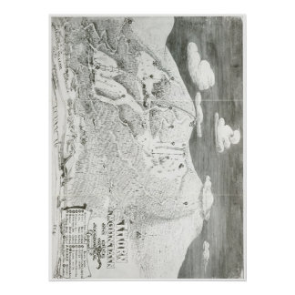 Thorn Mountain 1949 Trail Map Poster
