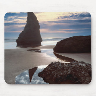 Thorn-Shaped seastack | Face Rock Wayside, OR Mouse Pad