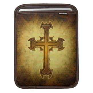 Thorn Spiked Cross Design