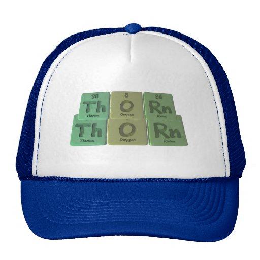 Thorn-Th-O-Rn-Thorium-Oxygen-Radon.png Gorra