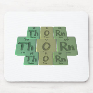 Thorn-Th-O-Rn-Thorium-Oxygen-Radon png Mouse Pads