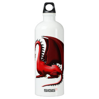 Thorn, the Red Dragon Aluminum Water Bottle