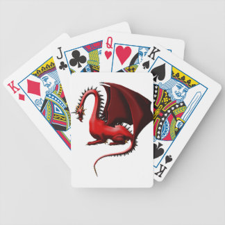 Thorn, the Red Dragon Bicycle Playing Cards