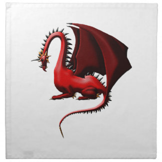 Thorn, the Red Dragon Cloth Napkin