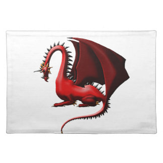 Thorn, the Red Dragon Cloth Placemat