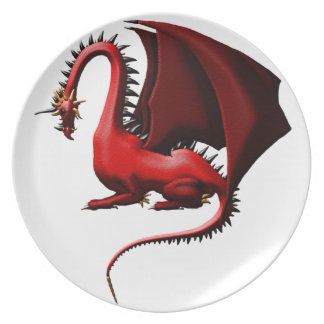 Thorn, the Red Dragon Dinner Plate