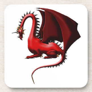 Thorn, the Red Dragon Drink Coaster