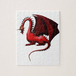 Thorn, the Red Dragon Jigsaw Puzzle