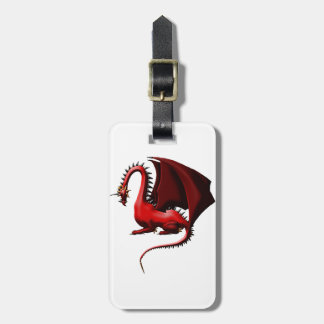 Thorn, the Red Dragon Luggage Tag