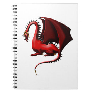 Thorn, the Red Dragon Notebook