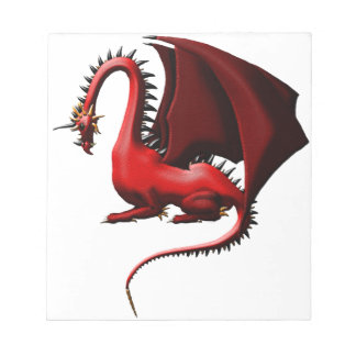 Thorn, the Red Dragon Notepad