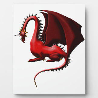 Thorn, the Red Dragon Plaque