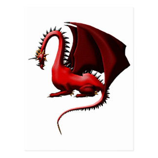 Thorn, the Red Dragon Postcard
